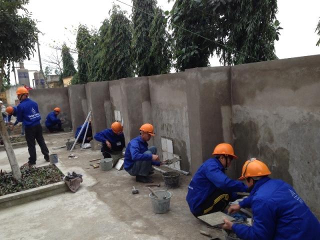 tuyển công nhân xây dựng cho QD-SBG