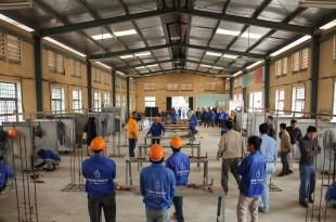 Hình ảnh thi tuyển mộc,sắt, hàn, xây trát ốp lát cho A.S.Alsayed 6