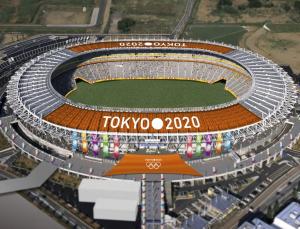The van hoi olympic Tokyo 2020