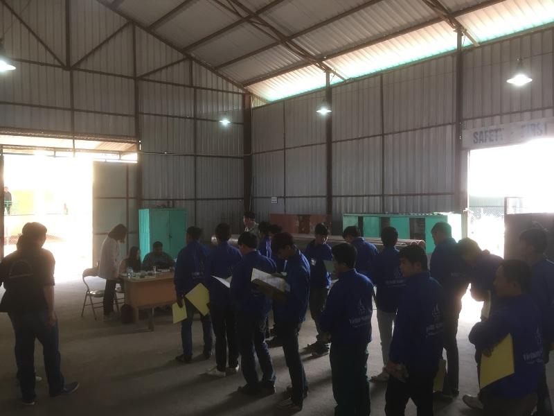 Thi tuyển thành công 200 thợ hàn đi Trung Đông, thợ chế tạo và thợ lắp đặt thùng chứa dầu cho Tập đoàn Inco