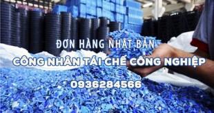 Công nhân tái chế công nghiệp