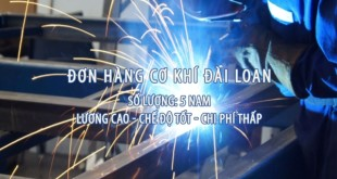 thợ cơ khí - đài loan